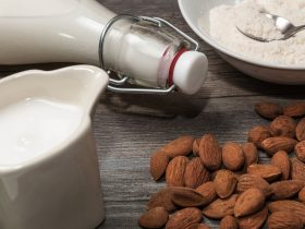 can you freeze almond milk
