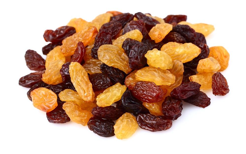 types of raisins