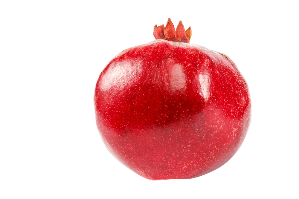 whole pomegranate
