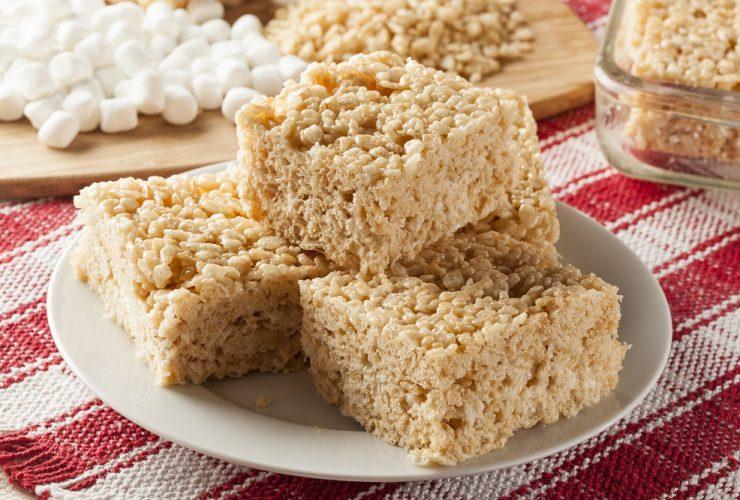 can you freeze rice krispie treats