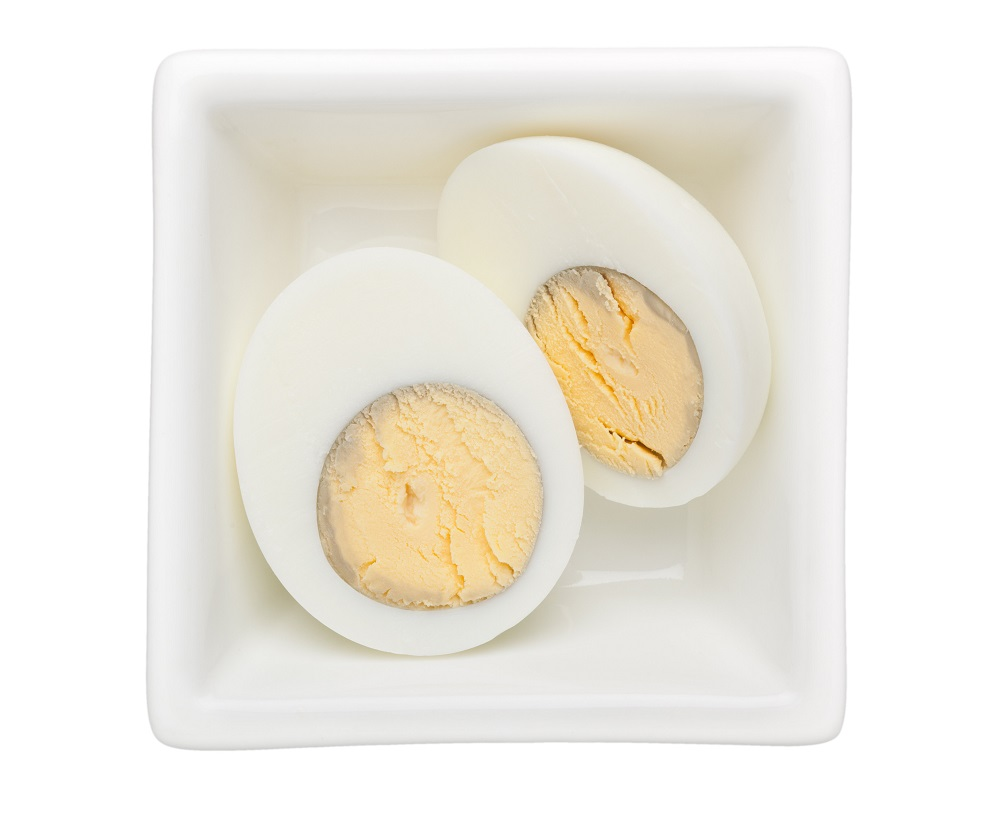 overcooked hard boiled eggs